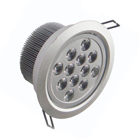 1200LM Led 12 Watt Commercial Lighting Ceiling Spotlight / 4500K CCT Led Halogen Replacement