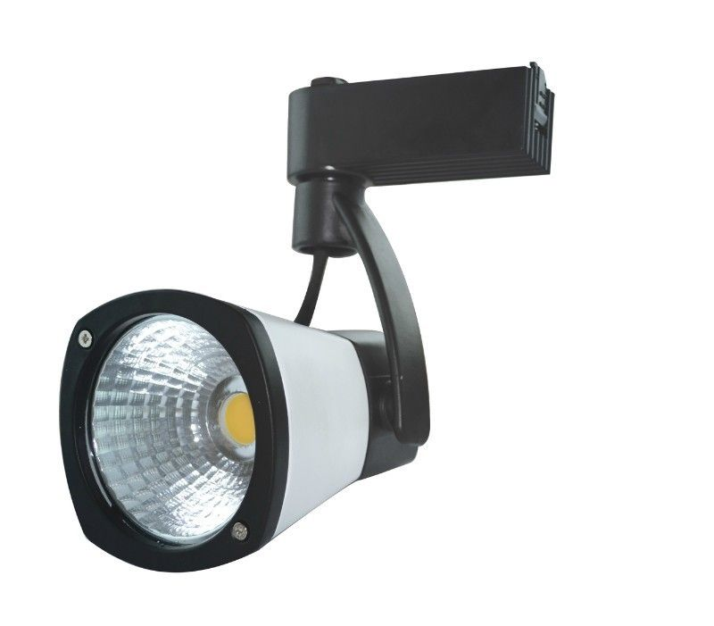 30 ° 5000K Cob Led Track Spotlights Ra80 60 Hz , Pure White Led Track Spot Light