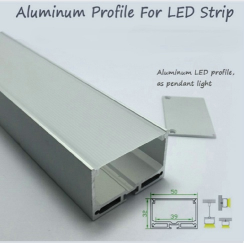 R2U-046 China lighting wide Aluminum Channel led profile for flexible strips 3528 5050