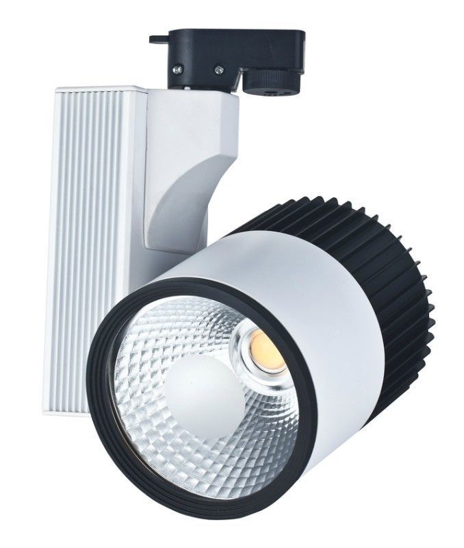 Led Track Lighting China: Cob 30w Home Led Track Spot Light 6500k Cool White Led