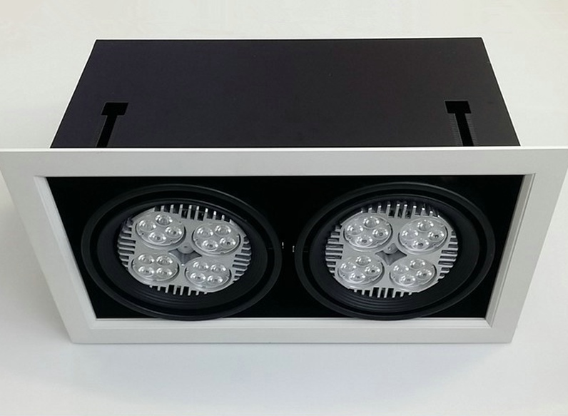 Double Led Downlight Ceiling Grille Downlight Led