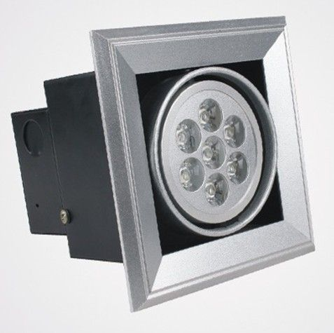 Interior 2800k Warm White Led Grille Spot Light 100lm Aluminum With ...