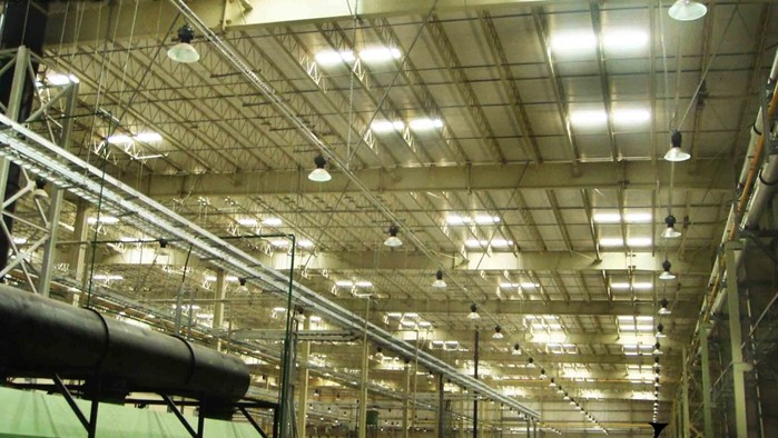 Gyms Garages 150W Waterproof Led High Bay Lights Super Bright With CE RoHS