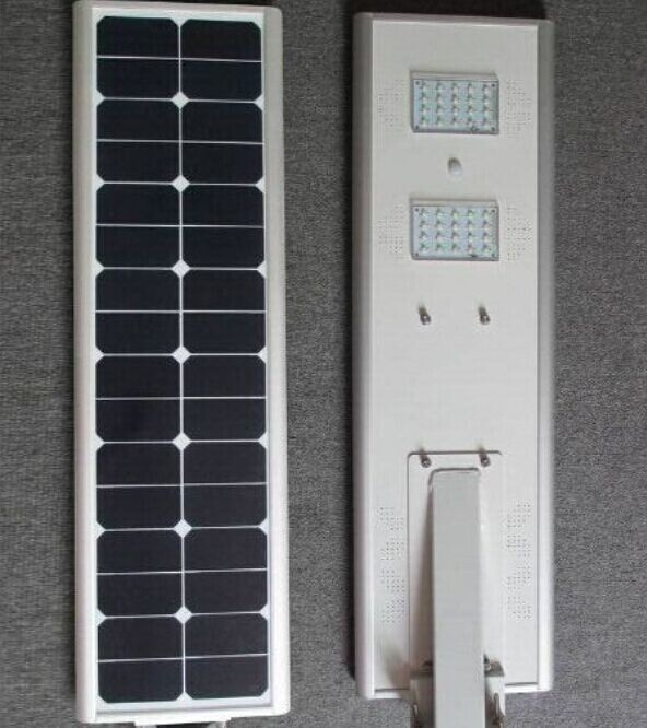 40W Powerful Integrated Solar LED Light Epistar / Bridgelux, Led Garden light